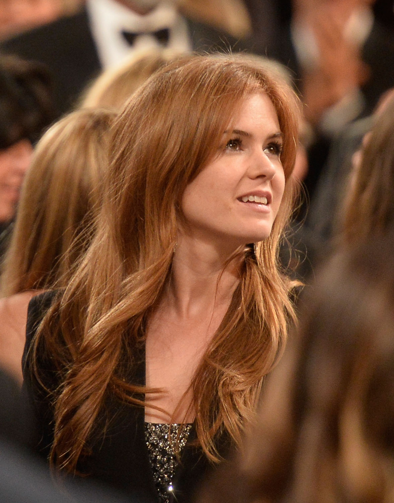 . Actress Isla Fisher attends the 41st AFI Life Achievement Award Honoring Mel Brooks at Dolby Theatre on June 6, 2013 in Hollywood, California. Special Broadcast will air Saturday, June 15 at 9:00 P.M. ET/PT on TNT and Wednesday, July 24 on TCM as part of an All-Night Tribute to Brooks.  (Photo by Frazer Harrison/Getty Images for AFI)