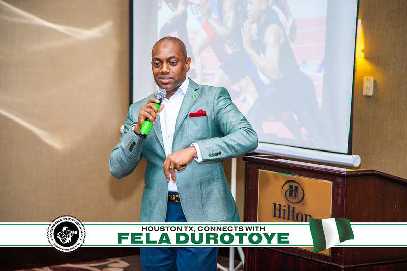 FELA DUROTOYE CONNECT WITH HOUSTON TX