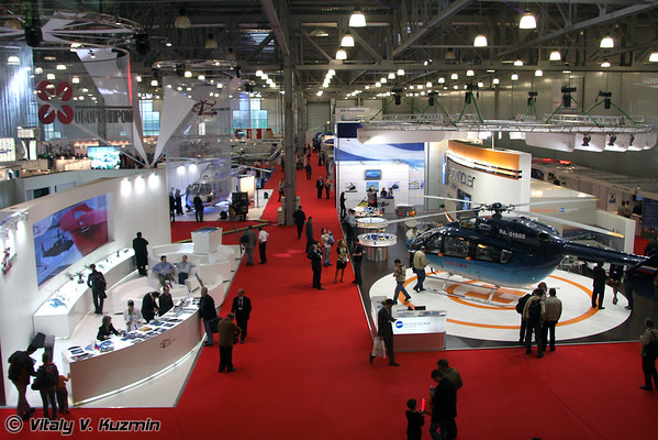 International helicopter industry exhibition HeliRussia-2009
