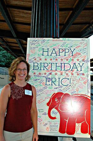 ERIC'S BIRTHDAY CELEBRATION