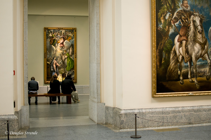 Sun 3/06 in Madrid: Oops...photos not allowed in the Prado