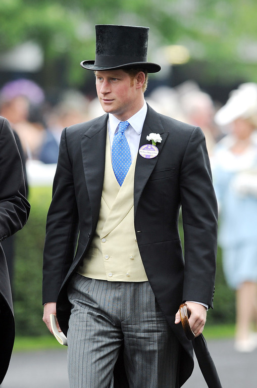 . Prince Harry attends Day 3 of Royal Ascot at Ascot Racecourse on June 19, 2014 in Ascot, England.  (Photo by Stuart C. Wilson/Getty Images)