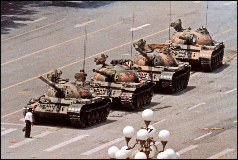 World Famous Photos - Tank Man - Jeff Widener – 1989