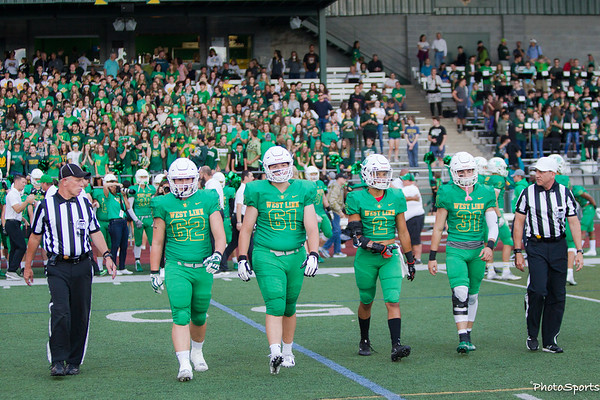 West Linn Varsity vs. McNary September 7, 2018