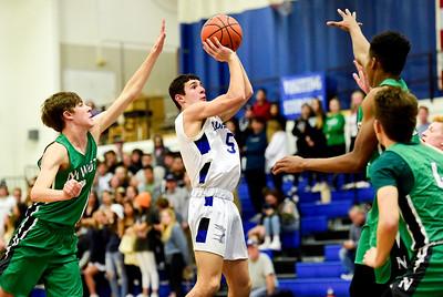 Photos: Longmont Vs. Niwot Boys Basketball 1/14/20