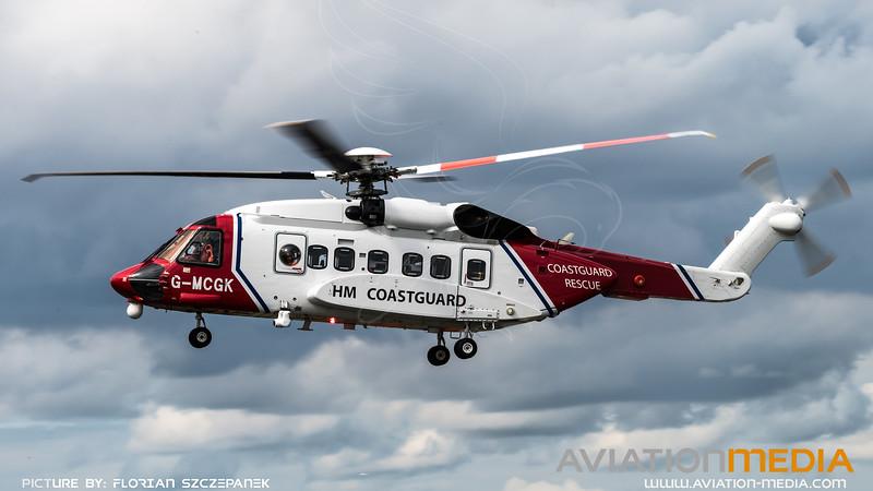 HM Coastguard / Sikorsky S-92A / G-MCGK