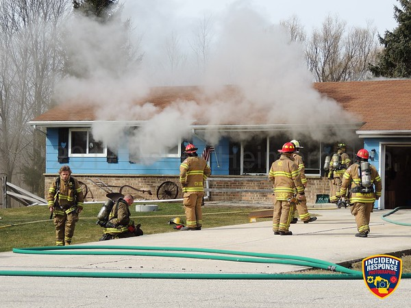 House fire on March 12, 2017