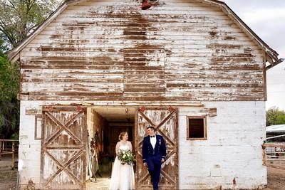 Albuquerque Old Town Farm Spring Barn Wedding