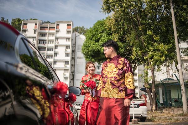 Chee Khang & Adeline Wedding day