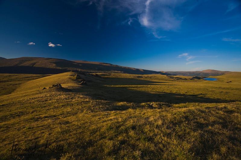 Blue Lake, Mongolia.