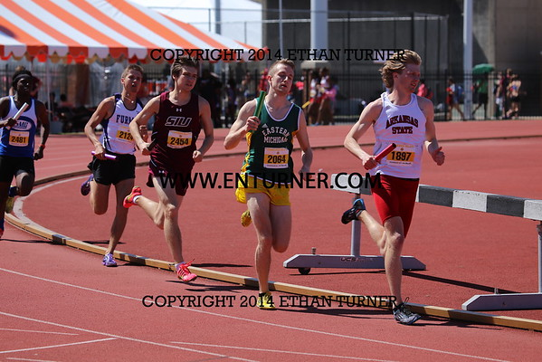 2015 Tennessee Relays - 4x800M relays