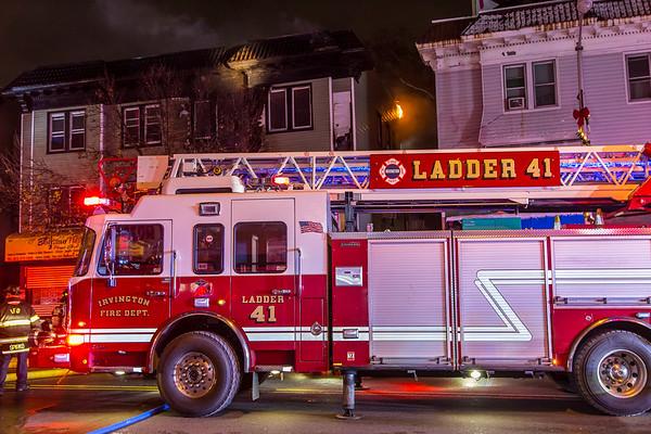 Irvington NJ 3rd alarm+,  889 Springfield Ave. 12-03-19