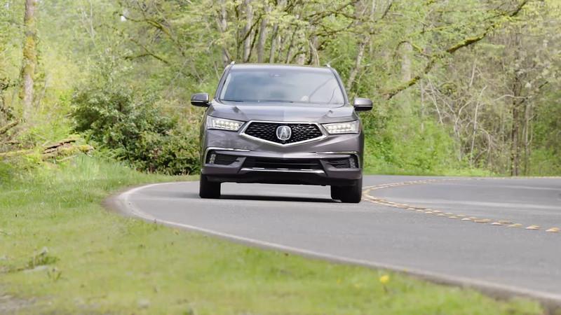 2017 Acura MDX Sport Hybrid Driving Reel