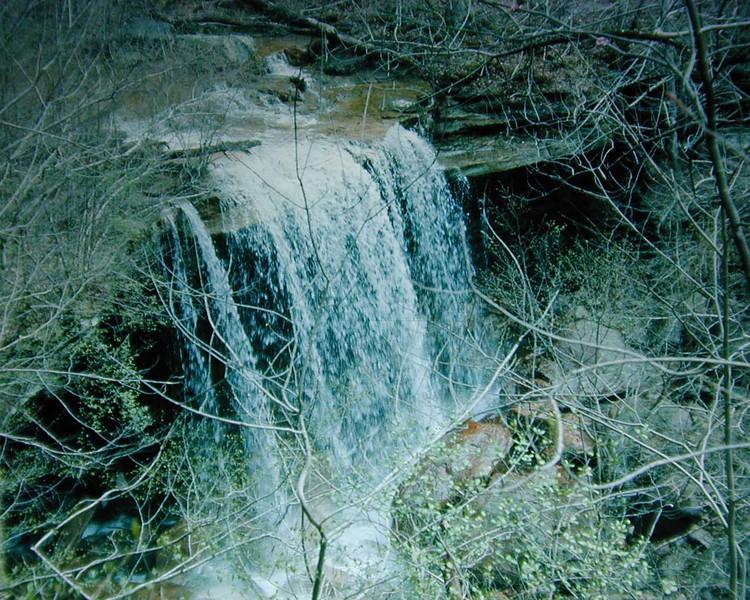 Big Laurel Falls
