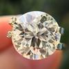 3.86ct Old European Cut Diamond GIA K VS2 47