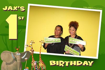 Jax's 1st Birthday