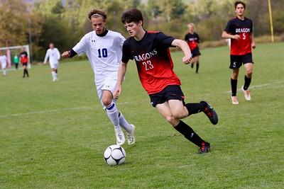 US Boys Soccer vs Stillwater Christian 10-6-18