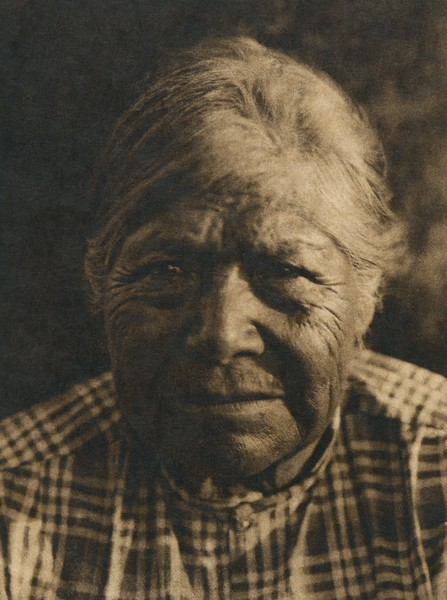 A Chukchansi matron (The North American Indian, v. XIV. Norwood, MA, The Plimpton Press, 1924)