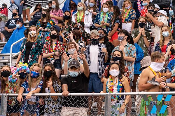 8-21-2020 HVA vs Oak Ridge Hawks Nest Student section