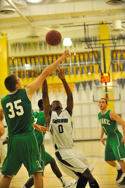 El Cerrito High Gauchos Drake High. The Gauchos won 55-47. December 11, 2012.