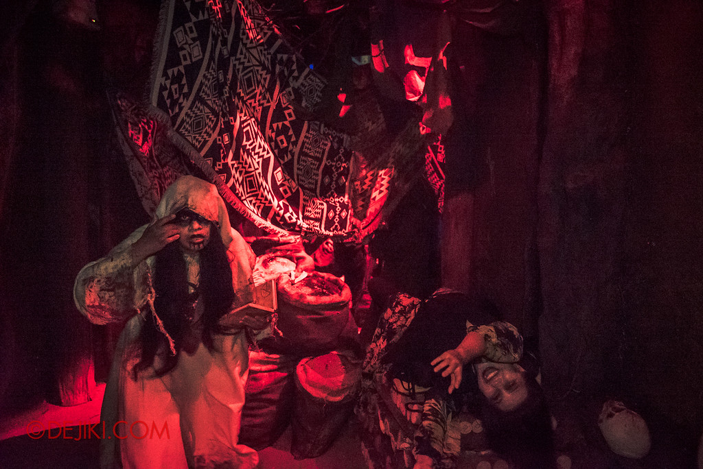 Halloween Horror Nights 7 - HEX haunted house / red hex