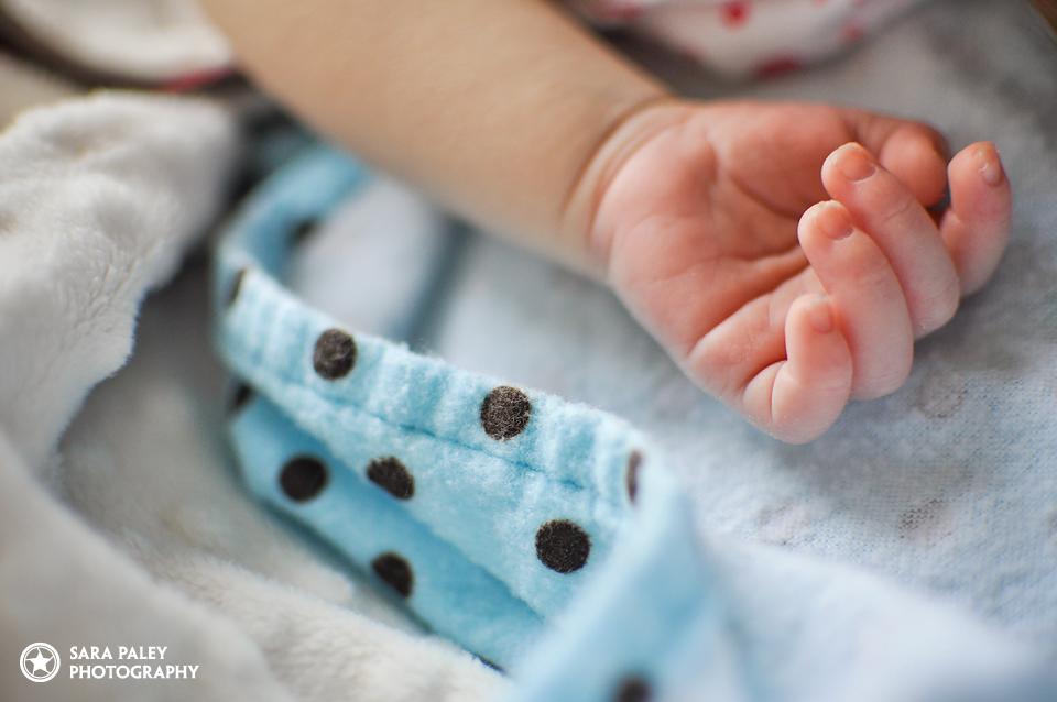 newborn baby lifestyle portrait