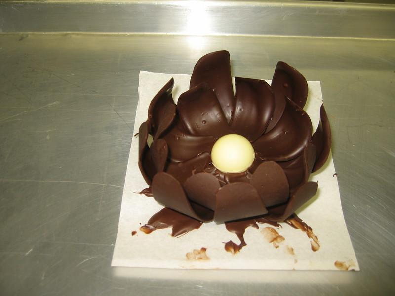 Craig's chocolate flower