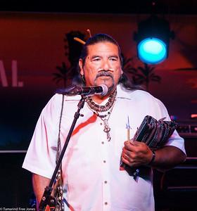 Honoring Chief Looking Horse at The Malibu Guitar Festival 2017