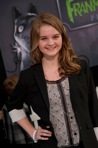 HOLLYWOOD, CA: Actor Kerris Dorsey arrives at the Premiere Of Disney's 'Frankenweenie' at the El Capitan Theatre on Monday, September 24, 2012 in Hollywood, California. (Photo by Tom Sorensen/Moovieboy Pictures)