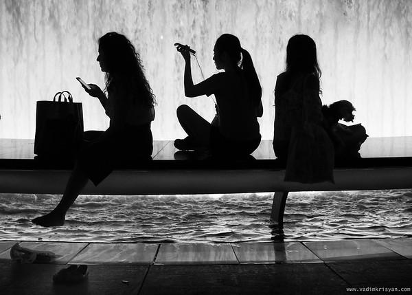 Silouhettes, Lincoln Center, New York, 2016