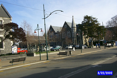 Christchurch New Zealand, August 2002