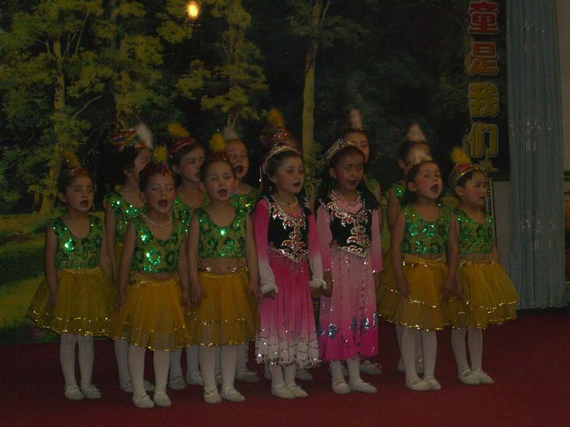 Kindergarten dancers - Kaitlin Lutz