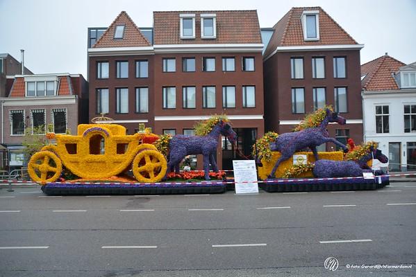 Bloemencorso praalwagens in Haarlem 2015