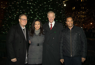 Third Annual CityCenterDC Holiday Tree Lighting with DC's Tallest Tree (11/27/16)
