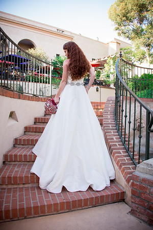 Balboa Park Wedding  - The Prado Casa del Rey Moro Gardens Wedding Ceremony  Site