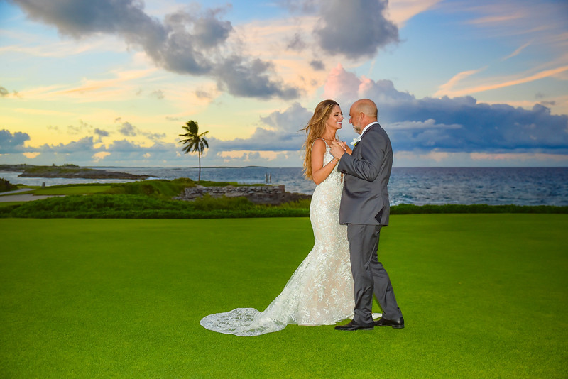 Destination Wedding at Grand Isle Resort in Exuma Bahamas photo by Reno Curling #renocurling