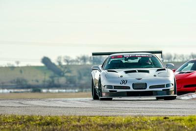 #30 Siver C5 Corvette