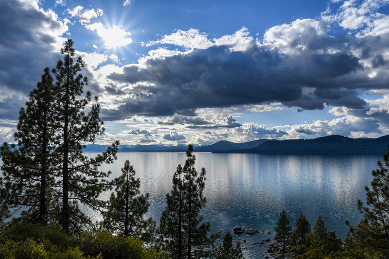 View of Lake Tahoe from Nevada side