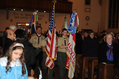 Scout Saturday Mass