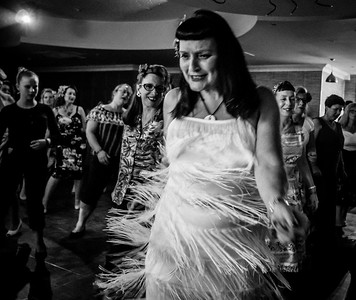 A B&W Party at Welsh Rockabilly Fair 2017