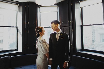 Eugene & Lindsay. Married.