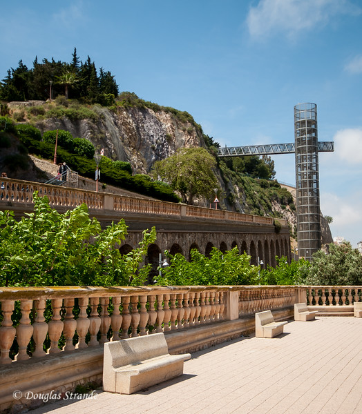 Cartagena, Spain - Panoramic Lift to Concepcion Hill