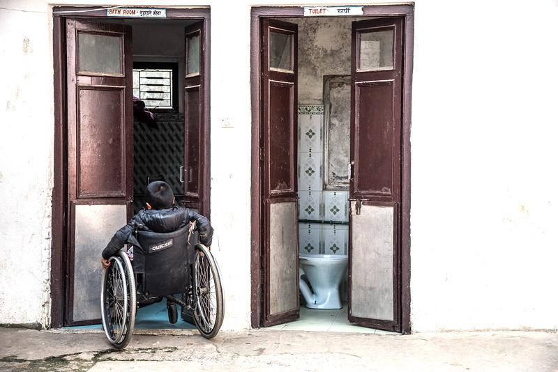 Disabled Rehabilitation Center, een van de tehuizen dat door 4 Smiling Faces wordt ondersteund