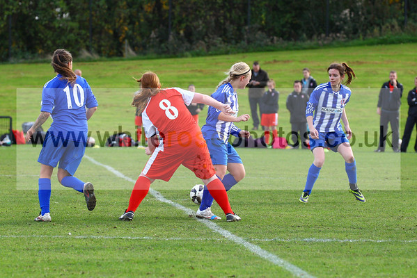 Aquaforce Ladies v Rotherham United Development Ladies 25 - 10 - 15