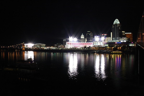 Downtown Cincy @ Night