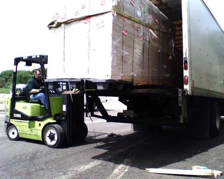 Unloading the beast Sent from my Sidekick -gc