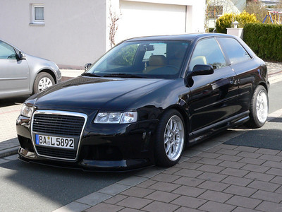 New Audi Front