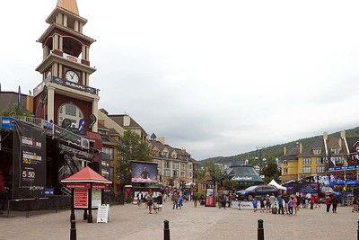 Mont-Tremblant village : from on and above ground