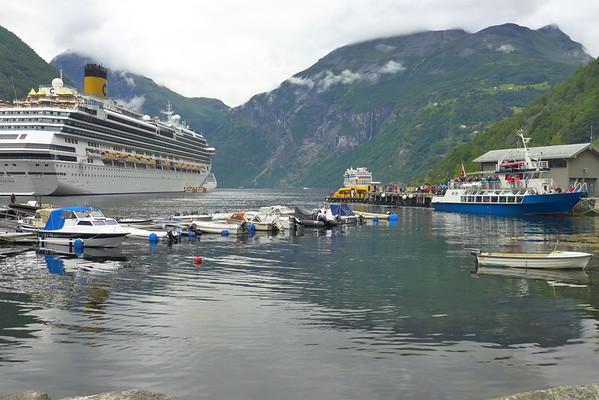 Geiranger Norway August 2016