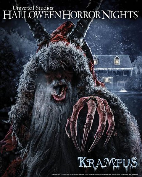 KRAMPUS comes to life as full maze at Universal Studios Hollywood (and Orlando) for 'Halloween Horror Nights'